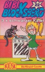Cover: 3x schwarzer Kater